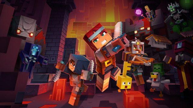 Minecraft Dungeons Fighter's Bindings