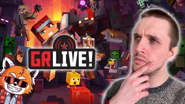 GR Live! Minecraft Dungeons è Diablo ma con i lama