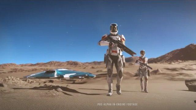 Elite Dangerous: Odyssey consente ai giocatori di camminare sui pianeti per la prima volta in assoluto