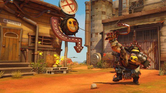 Overwatch Experimental Genji buff Roadhog Hook