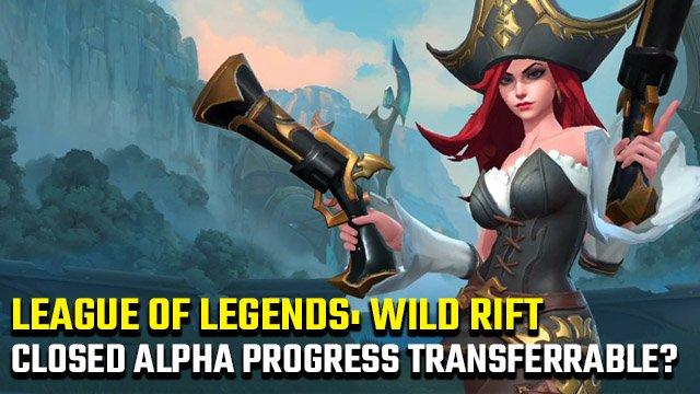 League of Legends: Wild Rift prosegue i progressi dell'alfa chiusa?