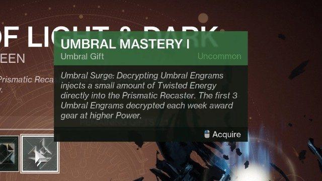 Destiny 2 Padronanza di energia intrecciata I