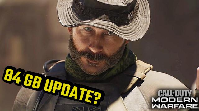 Perché oggi c'è un aggiornamento di Modern Warfare da 84 GB?