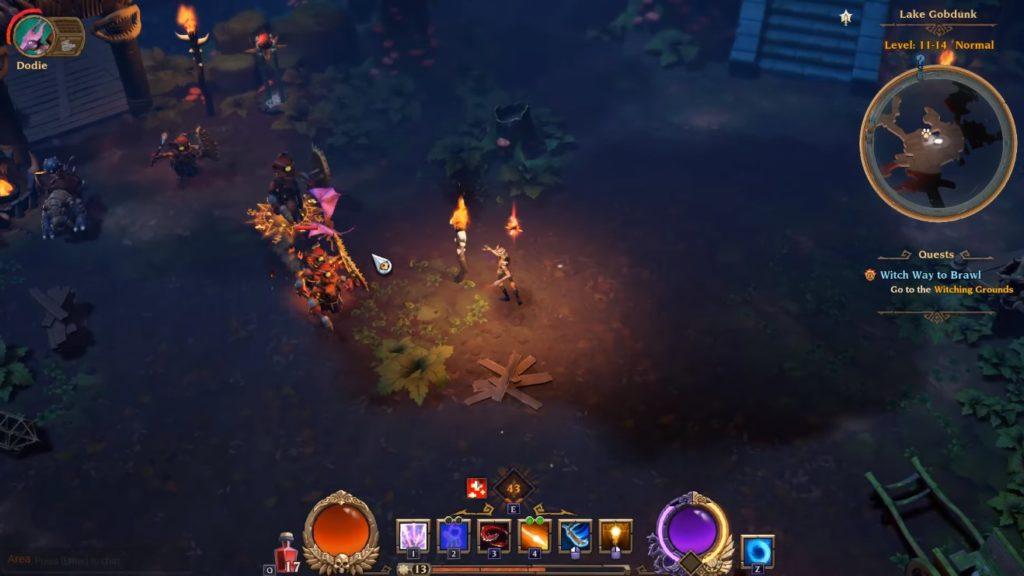 Torchlight 3 Witch Way to Brawl Soluzione