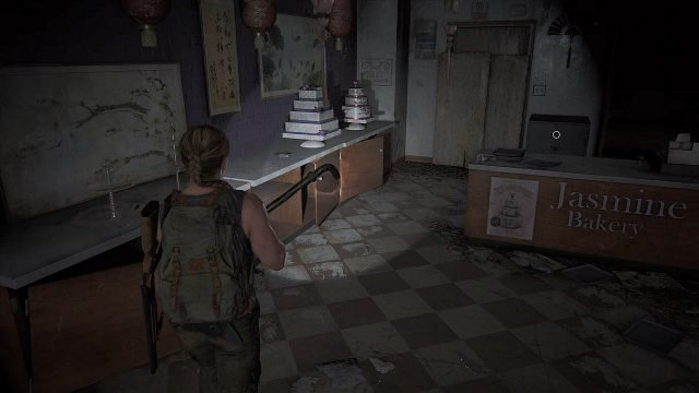 The Last of Us 2 Seattle Day 1 - Abby - Jasmine Bakery Posizione sicura