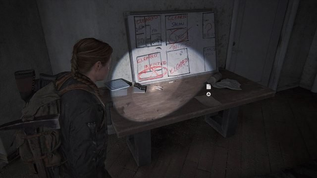 The Last of Us 2 Seattle Day 2 - Abby - Apartment Safe Code Posizione