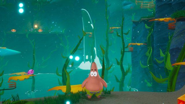 spongebob battle for bikini bottom reidratato roundup tiki puzzle tutto in pietra tiki
