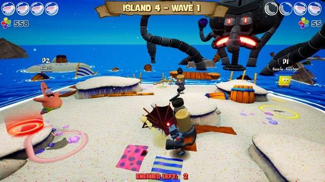 è la battaglia di spongebob per il multiplayer reidratato del fondo bikini
