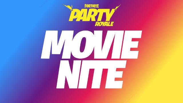 Fortnite Party Royale Movie Nite mostra un film completo di Nolan questo venerdì