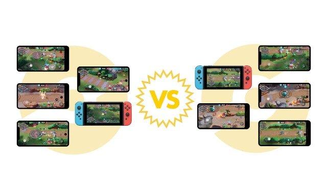 Pokemon MOBA Pokemon Unite 5v5 Nintendo Switch Android iOS