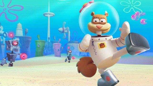 Spongebob Battle for Bikini Bottom Sandy
