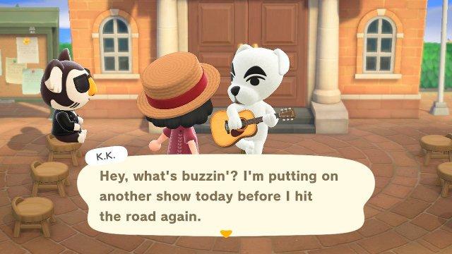 Perché venerdì c'è KK Slider in Animal Crossing: New Horizons?