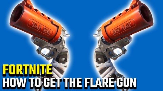 Come ottenere Flare Gun in Fortnite