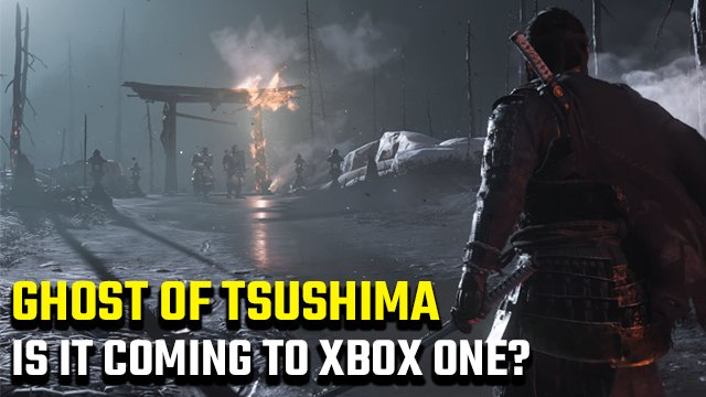C'è una data di uscita di Ghost of Tsushima per Xbox One?