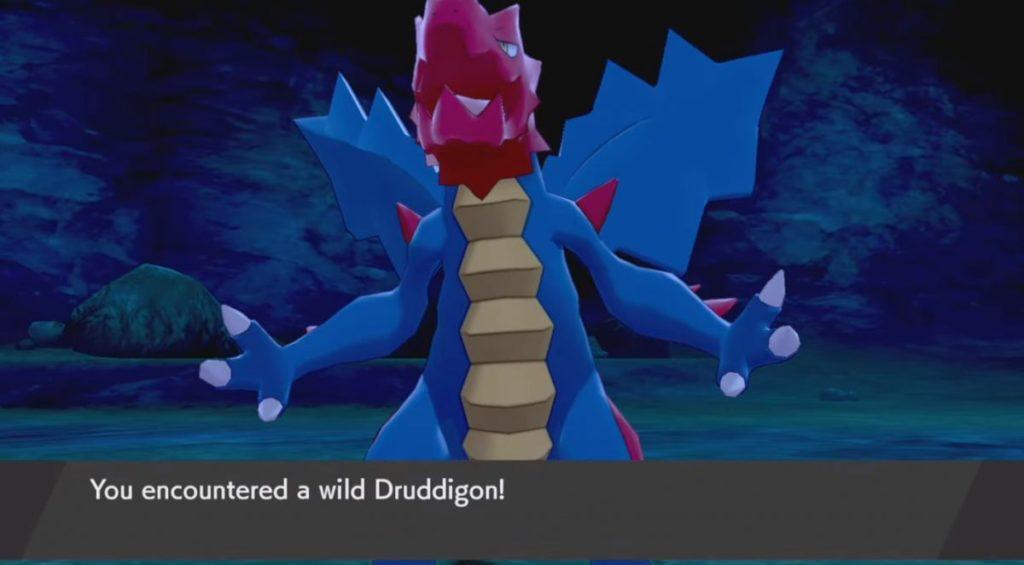 Come catturare Druddigon in Pokemon Spada e scudo, posizione e statistiche