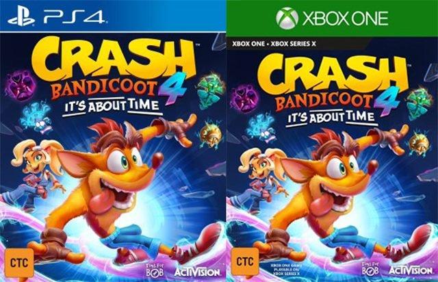 Crash Bandicoot 4: It's About Time perde nel quadro di valutazione