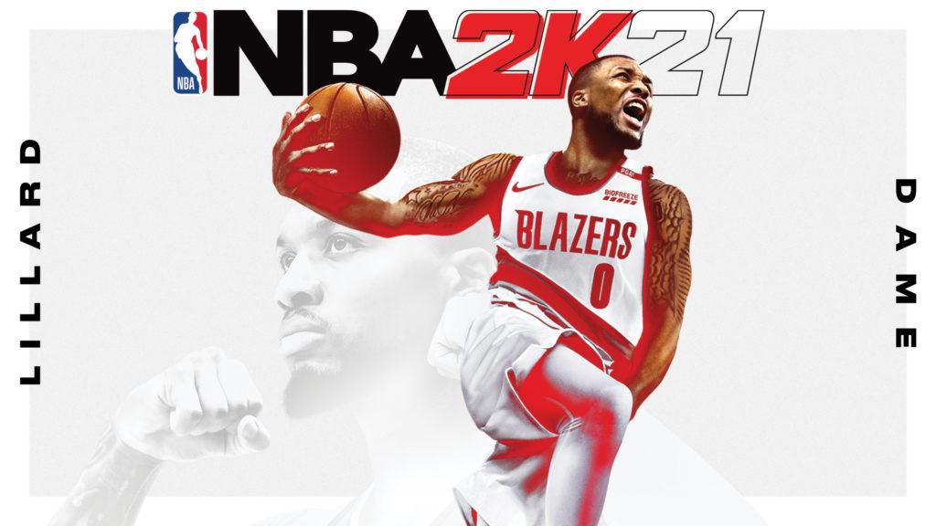 Damian Lillard è una delle star della cover dell'NBA 2K21