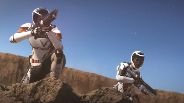 Elite Dangerous: Odyssey accovacciata sui pianeti