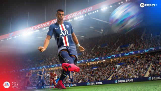 Aggiornamento gratuito di FIFA 21