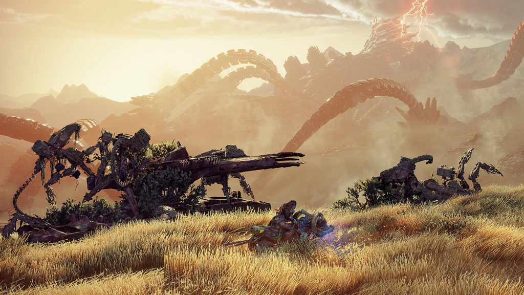 Horizon Forbidden West Machines dettagliate da Guerrilla Games