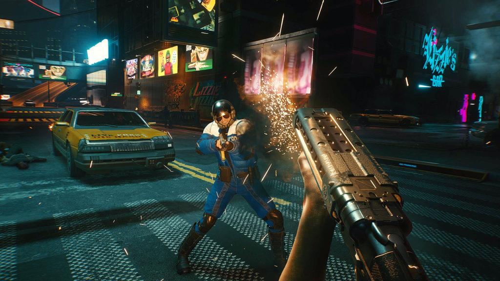 I giocatori di Cyberpunk 2077 possono bruciare la città di notte se lo desiderano