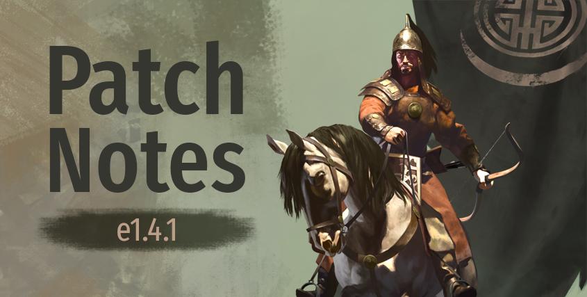 Mount & Blade II: Aggiornamento Bannerlord e1.4.1 È live, prezzo modificato