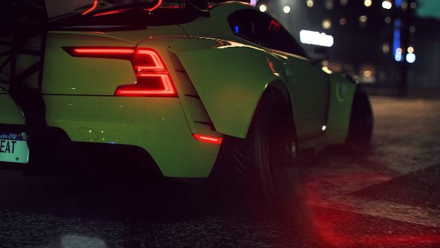 Need For Speed ​​Heat Cross-Play posteriore dell'auto