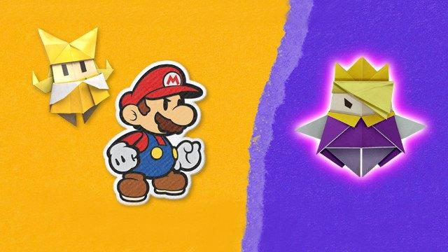 New Paper Mario: svelati i dettagli di Origami King