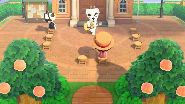 Perché venerdì c'è KK Slider in Animal Crossing? piazza cittadina