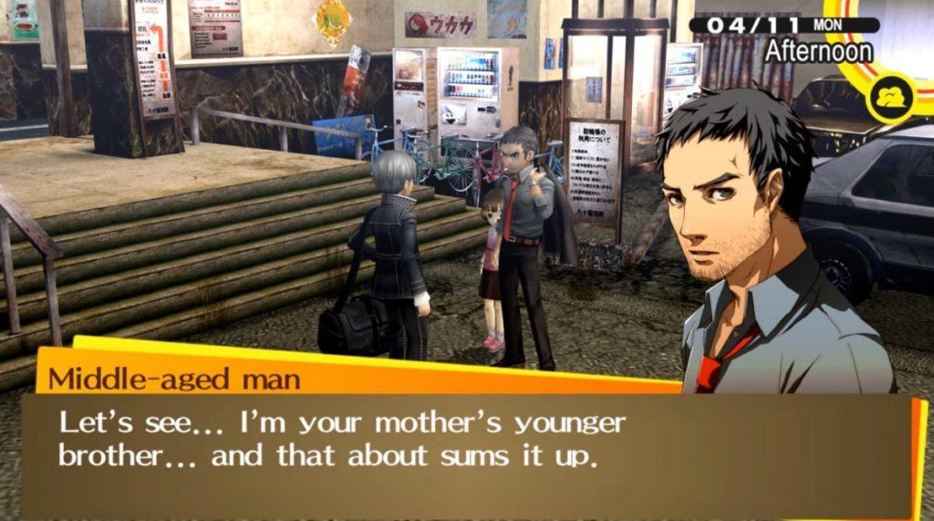Persona 4 Golden New Kid in Town Soluzione