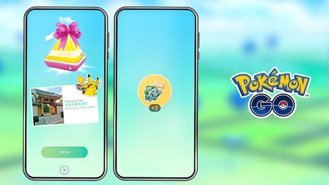 pokemon go adesivi regalo come usare