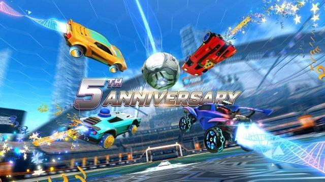 Data di fine dell'evento del 5 ° anniversario della Rocket League