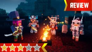 Box art - Minecraft Dungeons