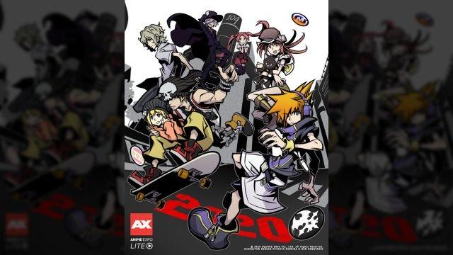 La copertina di The World Ends With You Anime Anime Expo Lite