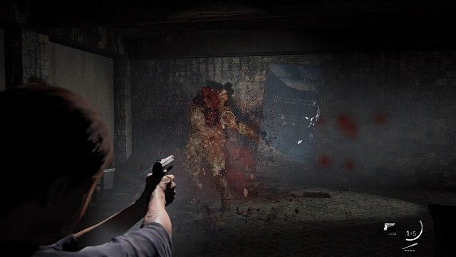 The Last of Us 2 Bloater Fight Shot