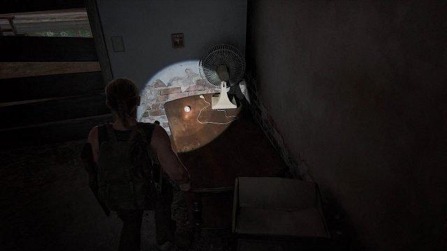 The Last of Us 2 Strange Relic Location Art Store