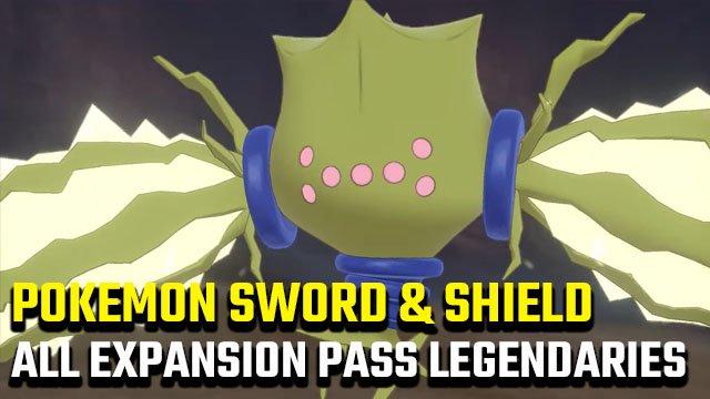 Tutti i leggendari Pokemon Spada e Scudo Expansion Superpass*