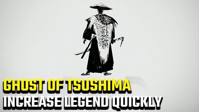 Fantasma di Tsushima | Il modo più veloce per aumentare la legenda e guadagnare XP