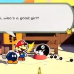 Can You Pet the Paper Mario: The Origami King Chain Chomp good girl