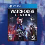 Watch Dogs: Legion PS4 Pre-Order Amazon blue