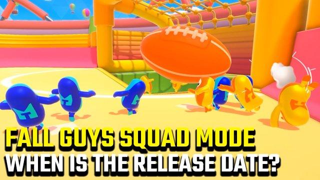 Quando è la data di rilascio della modalità Fall Guys Squad?