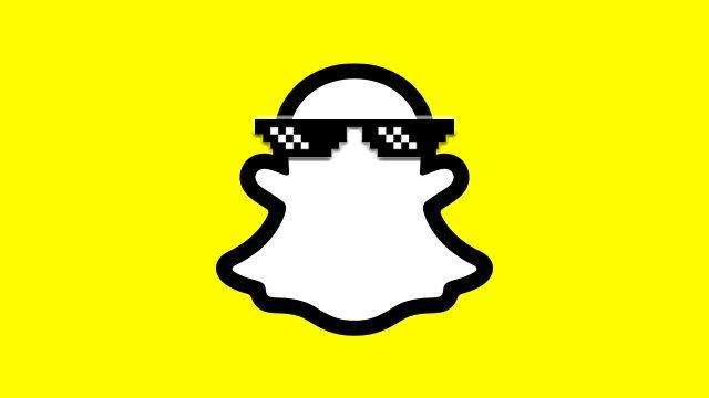 Modalità oscura di Snapchat