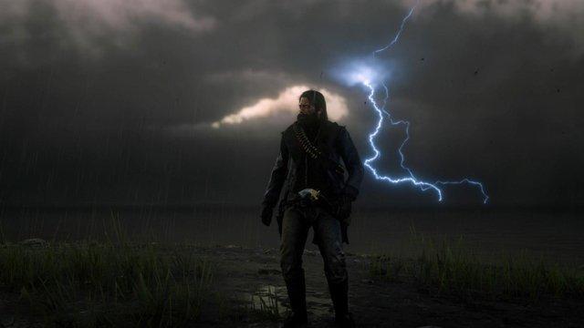 Un fan di Red Dead Redemption 2 rimane bloccato nell'uragano Laura dopo la maratona