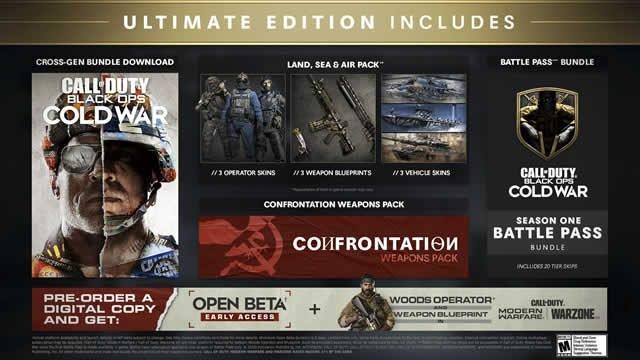 Quale edizione di Black Ops Cold War acquistare per il supporto cross-gen