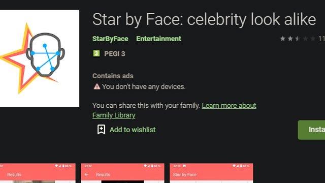 Cos'è l'app Celebrity Lookalike