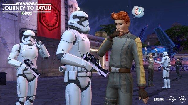 The Sims 4 Star Wars_ Journey to Batuu DLC