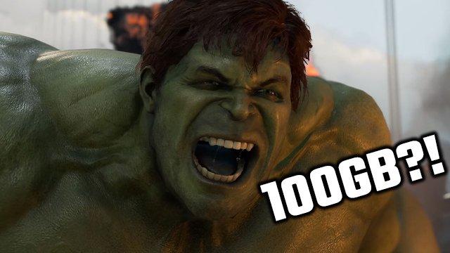 Marvel's Avengers richiederà oltre 100 GB di spazio sul disco rigido della PS4
