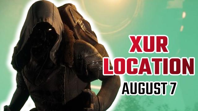Posizione Xur di Destiny 2 | Dov'è Xur oggi e cosa sta vendendo? (7 agosto)