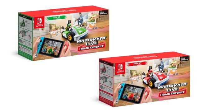 Quanto costa Mario Kart live? scatole