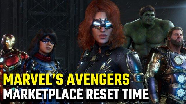 Quando viene ripristinata l'ora del mercato dei Vendicatori della Marvel?